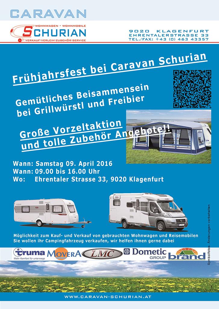 Frühlingsfest bei Caravan Schurian in Klagenfurt